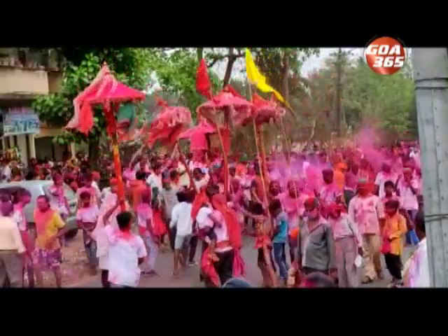 Goa celebrates Holi under the shadow of the corona virus