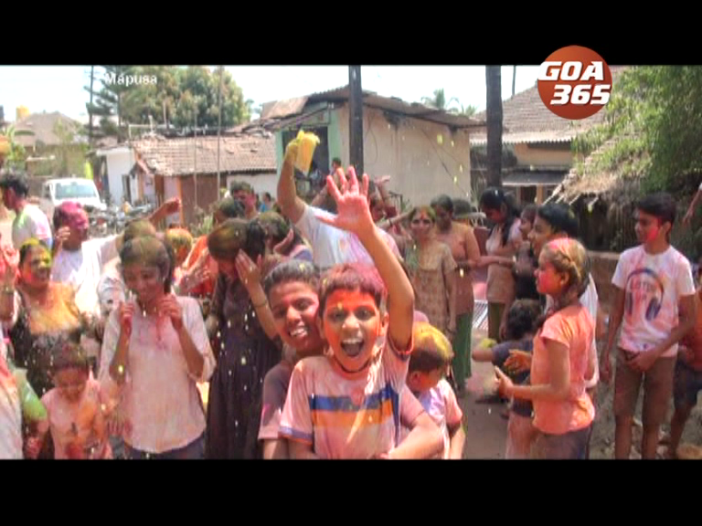 Goa celebrated Holi without Coronavirus fear