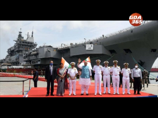 INS Vikrant by next year: Defence Minister