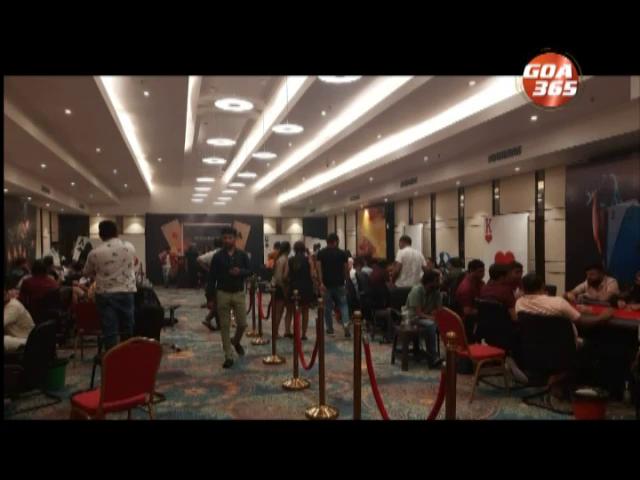 Illegal casino in Varca hotel raided