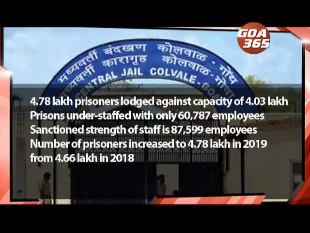 Indian jails are overcrowded & under-staffed: NCRB