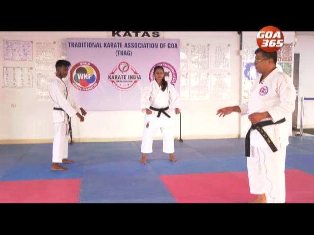 Karate with Sensei Joseph Rodrigues: Basic Punch and stance Episode 2