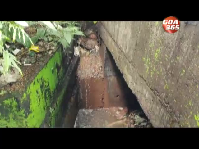 Locals upset as sewage water polluting spring