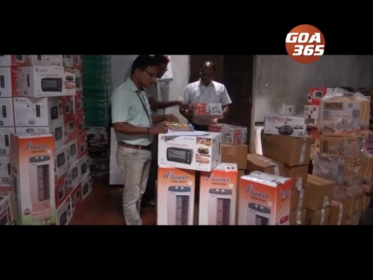 Duplicate electronic items seized