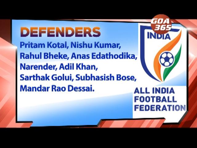Mandar, Rowllin, Adil, Brandon to play against Oman & Afghanistan