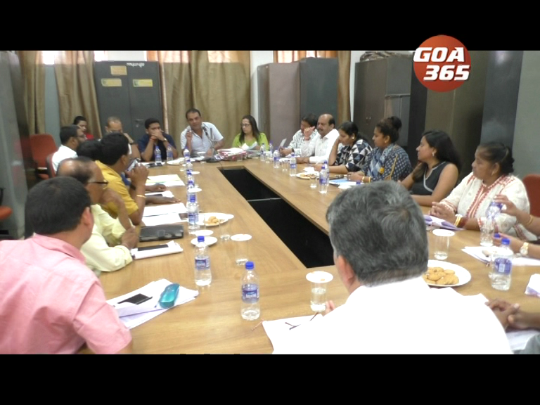 MMC on solving the current issues in Mapusa