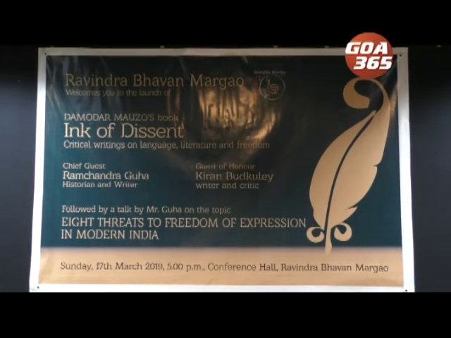Ram Guha to release Damodar Mauzo's book on Sunday