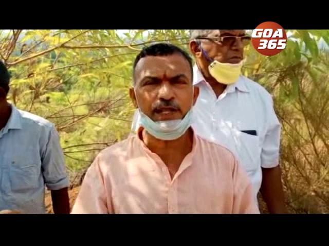 Mayem farmers threaten to stop ore transportation