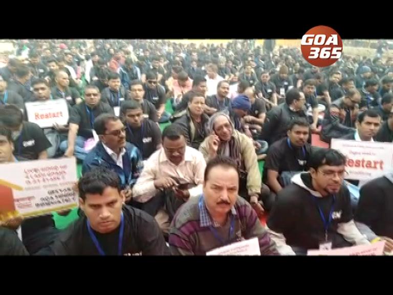 Mining 'staheholders begin protest at Delhi