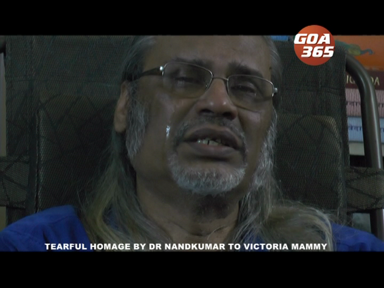 WHY DR NANDKUMAR BROKE DOWN WHILE PAYING TRIBUTES TO VICTORIA MAMMY