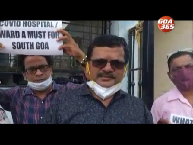 NGO protests after Margao Covid wards shut down