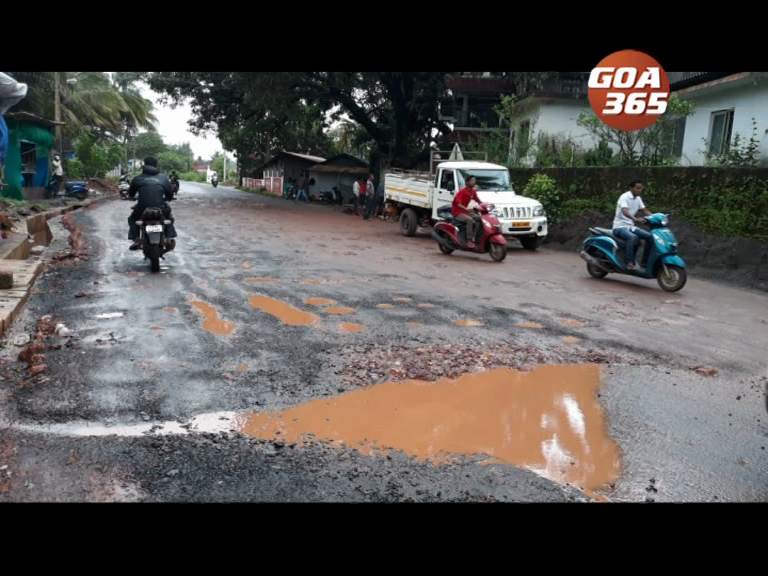 Finally Nagoa road repaired 'properly' says local MLA