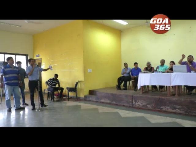 Nuvem sabha discusses road safety, garbage tax