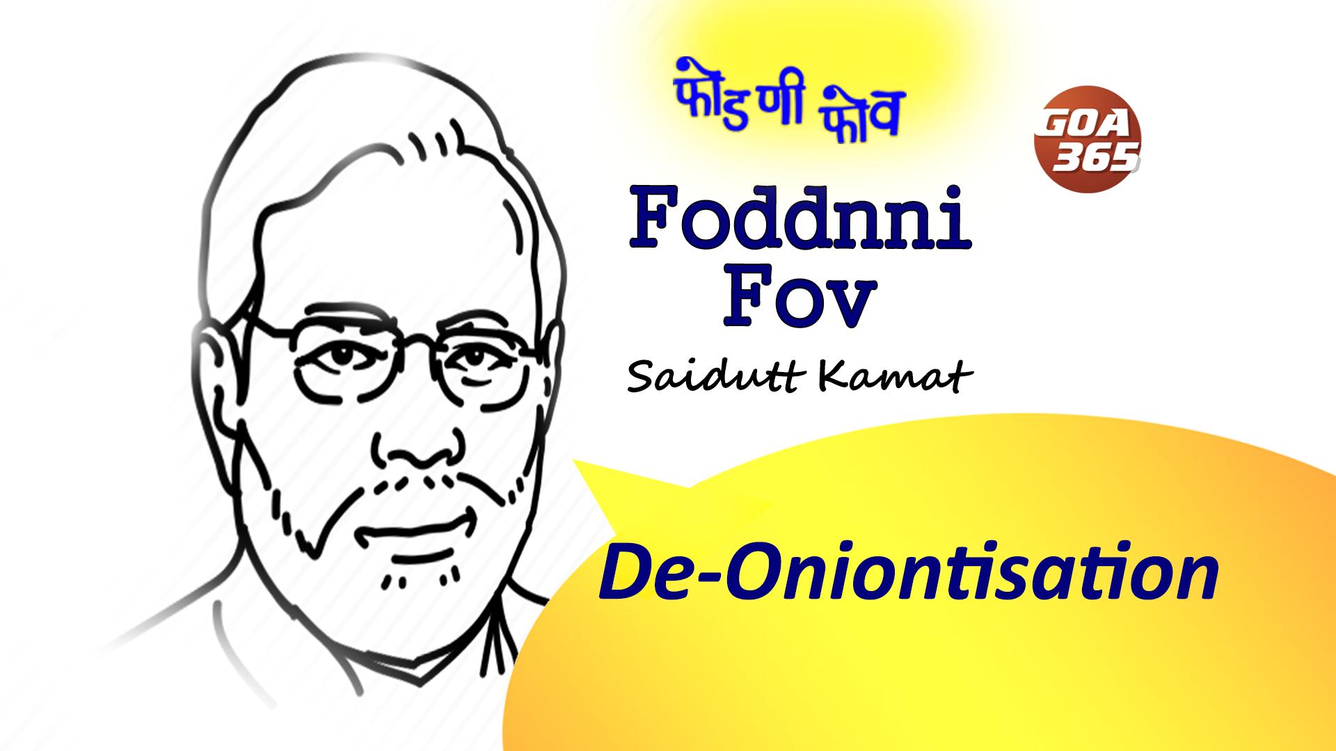 #FODDNNI_FOV : De-Oniontisation