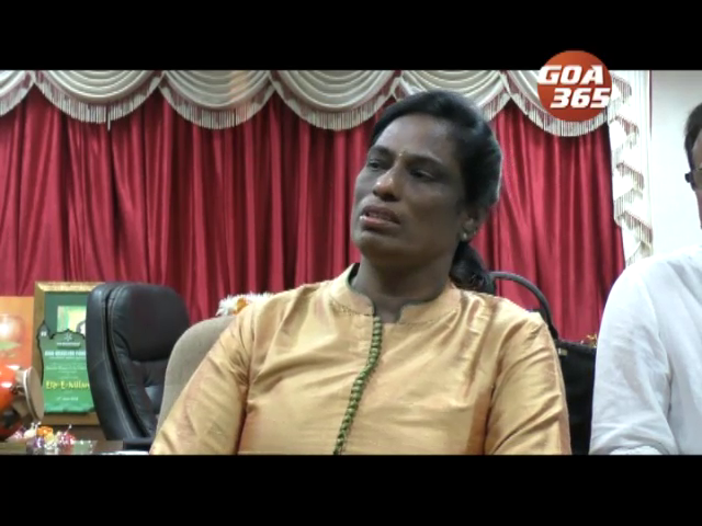 PT Usha on Training and hard work over Facilities