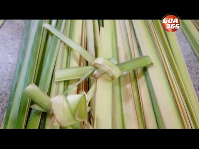 Goans observed Palm Sunday