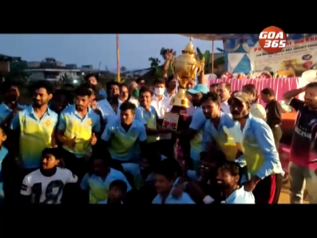 Balli Boys lift Panjorconi cricket cup