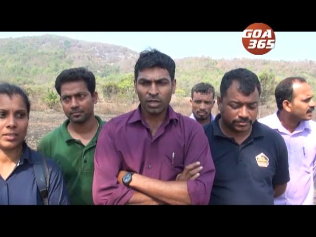 Goa365 Impact: Paroda hill fire under control; but was it a foul play?