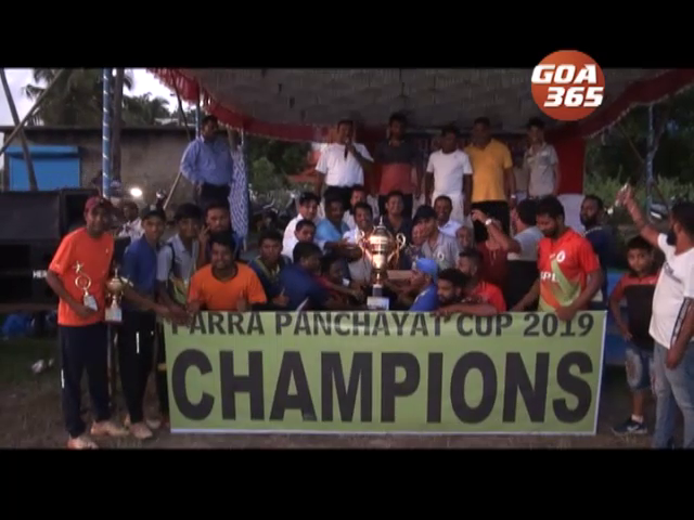 Taksha 11 Gurim lifts Parra Panchayat Cricket Cup