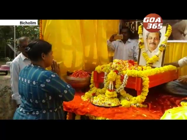 Parrikar ashes immersed across the state