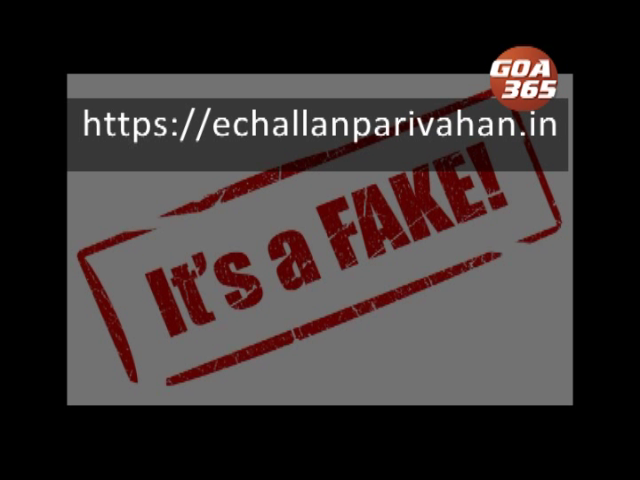 Police warn against payments to fake traffic violation, fine collecting website