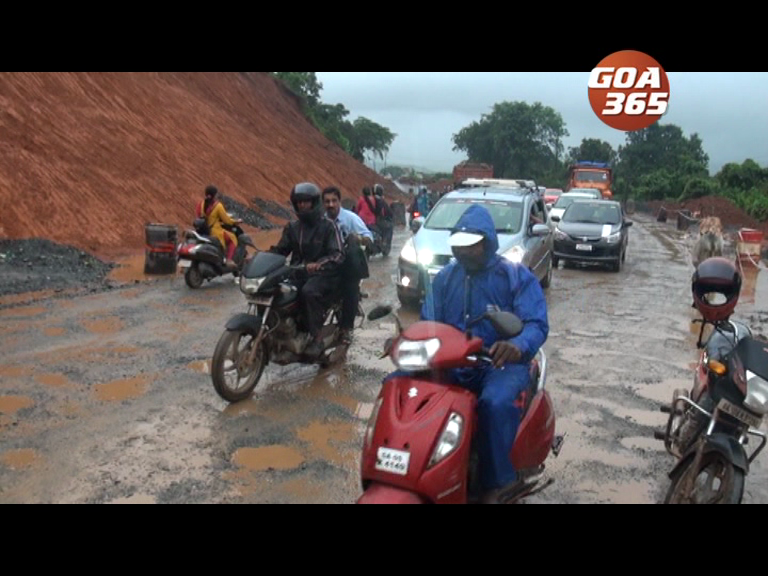 Ponda locals up in arms of PWD road work