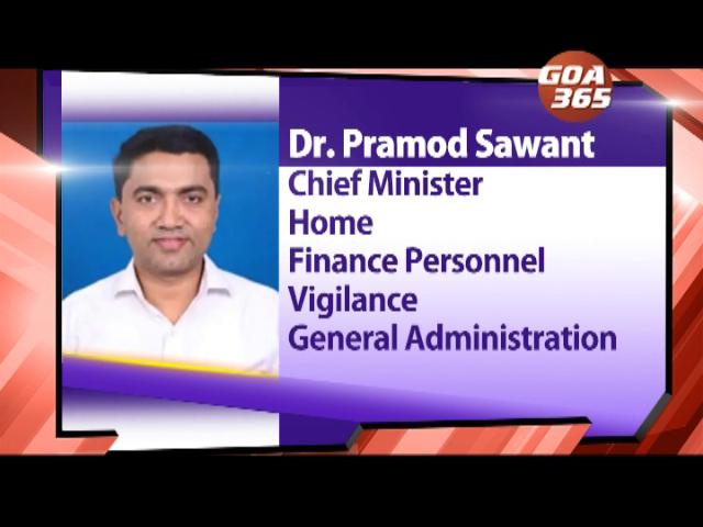 Will Dr Sawant distribute Parrikar's remaining portfolios?