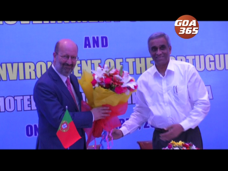 Goa, Portugal sign MOU on water sewerage; promise to cooperate in other fields also