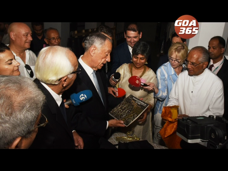 Portuguese Pres visits Basilica, Mater Dei on day 2 of visit