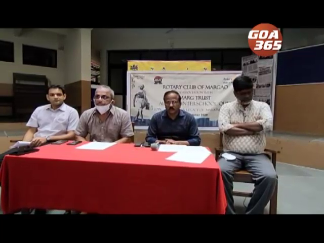 Quiz competition on Gandhi for Goa school students
