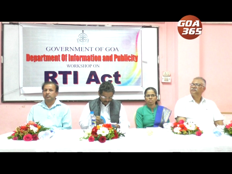 Workshop on getting to know the RTI act