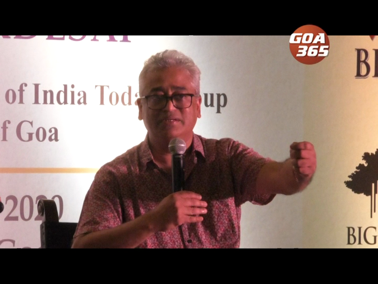 India sitting on volcano, Goa should show the way to India: Rajdeep