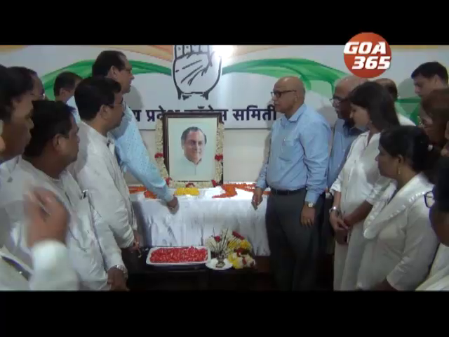 Congressmen remember Rajiv Gandhi on his birth anniversary