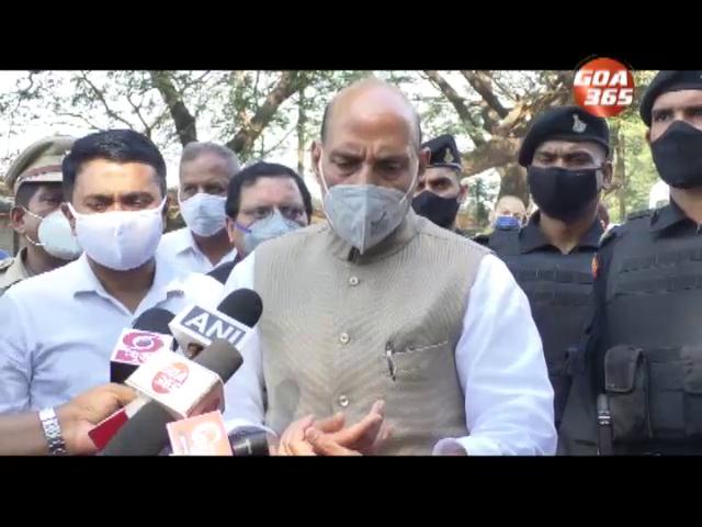 Shripad Naik to undergo medical treatment in Goa only: Rajnath