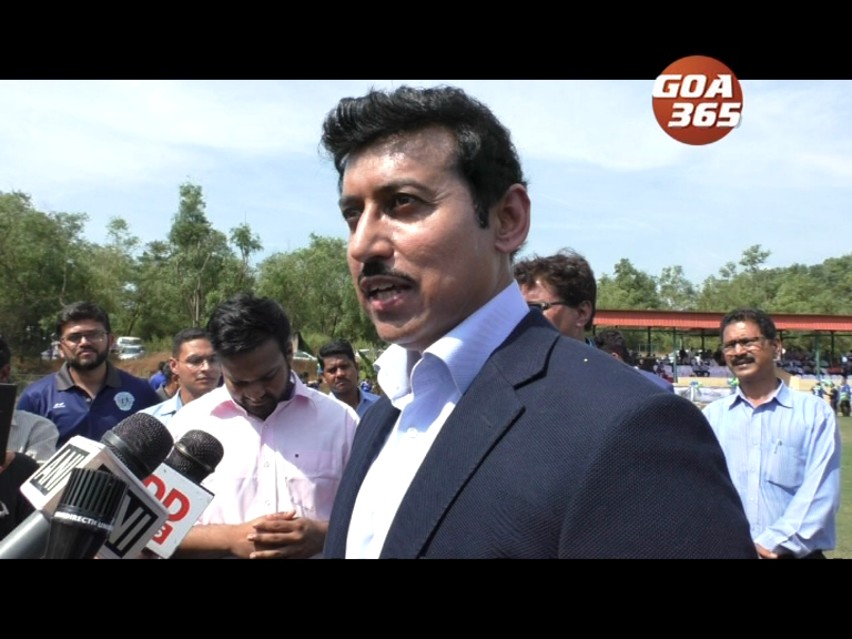 Goa can have its own Sports code, suggests union minister Rathore