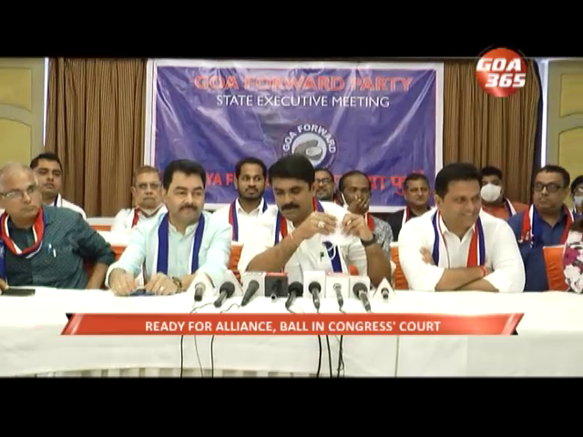Ready for alliance with Congress , ball in congress' court now: Vijay Sardesai