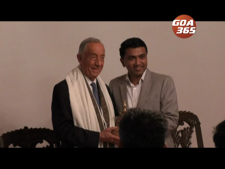 Port Pres arrives in Goa; signs 3 MOUs