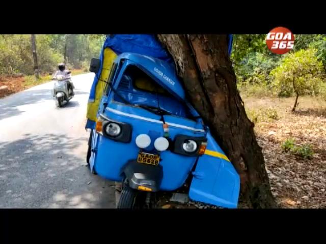 Rickshaw driver injured in Cuncolim accident