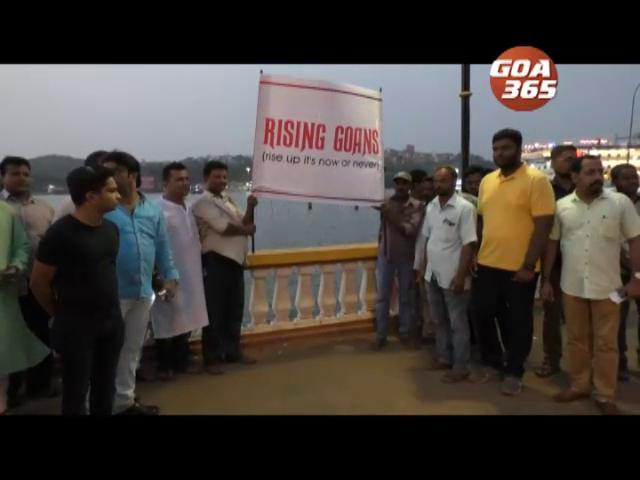 Rising Goans to start socio-civil movement against Casino's in Mandovi