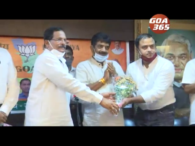 Ritesh and Roy say they joined BJP for development