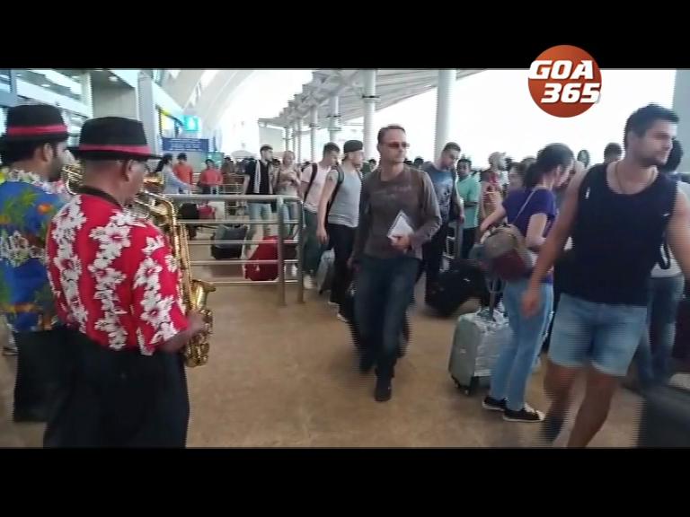 522 Russians arrive in Goa on 1st charter flight