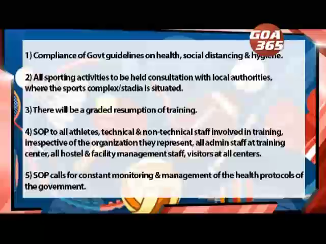 SAI releases Sports Guidelines #covid19