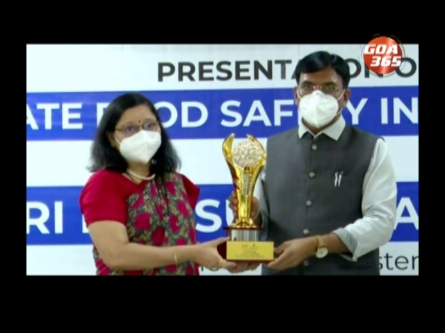 Goa FDA ranks 1st in Food Safety Index
