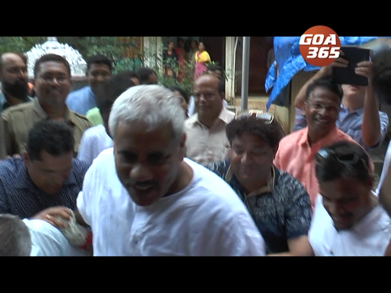 Goa's 'Amit Shah' is back; grand welcome to Satish Dhond