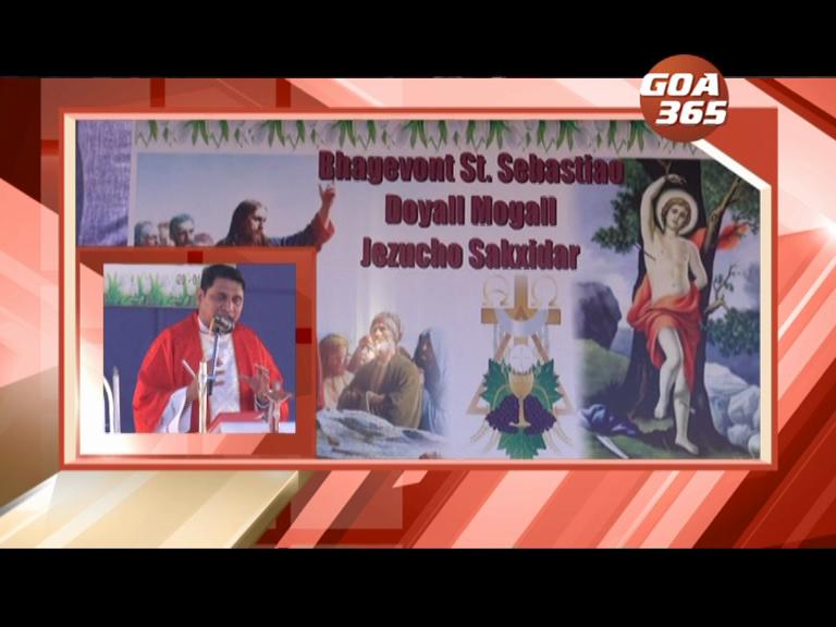 Goa celebrates feast of St. Sebastian