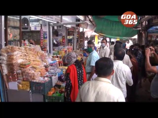 Tension flares up at Margao new market over opening of shops