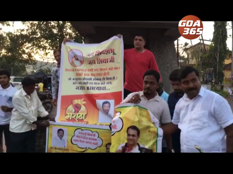 Tension in Bicholim over Chatrapati Shivaji statue status