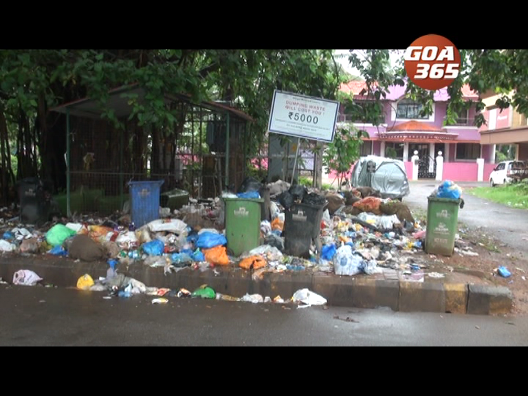 Uncollected garbage in Margao raises a stink