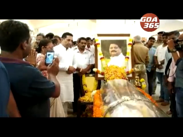 Goa bids farewell to Vishnu Wagh