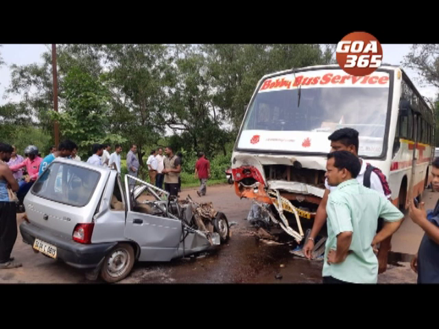 Women dies in road mishap at Surla